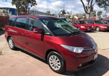 Toyota Tarago 8 seat people mover One owner, service history perfect for the growing family