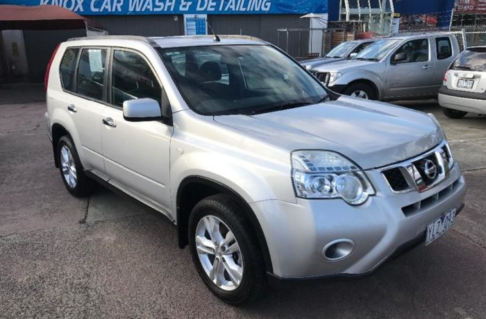 2011 Nissan X-Trail ST SUV wagon, Auto, One owner, full service books, as new inside and out!!