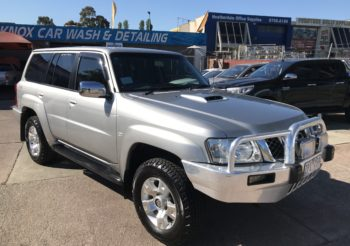 2005 Nissan Patrol ST turbo diesel AUTO, 7 seats, bullbar, driving lights, immaculate throughout!