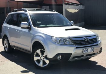 2008 Subaru Forester XT Premium turbo wagon. Auto, leather, sunroof. Now this is luxurious and powerful