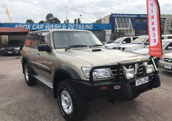 2003 Nissan Patrol ST 4.2 Turbo diesel wagon on Dual Fuel loaded with extras!!!