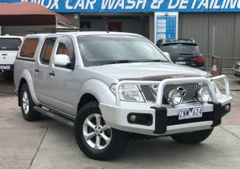 2012 Nissan Navara ST 4×4 Turbo Diesel Auto fully loaded and ready to go!!